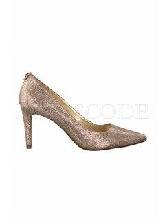 9. MICHAEL KORS Michael Kors Dorothy  pump glitter Goud
