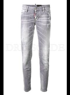 1. DSQUARED2 Dsquared2 gewassen jeans Grijs