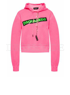 1. DSQUARED2 Dsquared2 sweaters met ketting roze