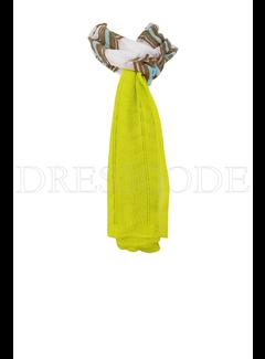 6. MISSONI Missoni sjaal met groenen details Wit