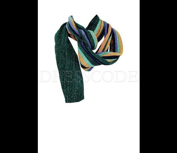 6. MISSONI Missoni sjaal in print met lurex Blauw