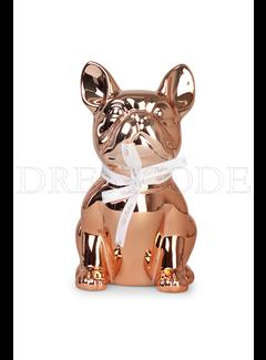 TED BAKER Ted Baker french bulldog spaarpot goud