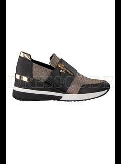 9. MICHAEL KORS Michael Kors sneaker chelsie trainer glitter zwart