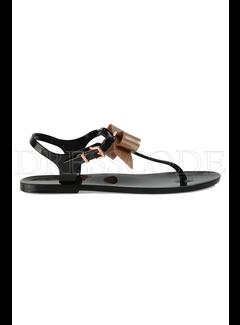 TED BAKER Ted baker sandaal met strik Teiya Zwart