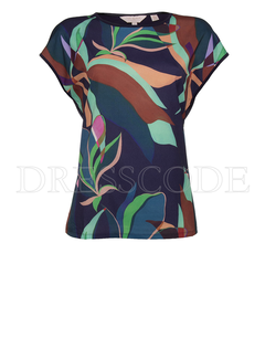 TED BAKER Ted Baker Top in print Blauw