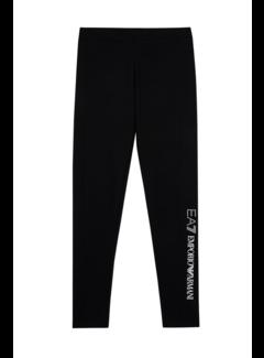 ARMANI EA7 Armani EA7 legging met logo in strass Zwart
