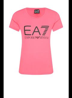 ARMANI EA7 Armani EA7 t-shirt met logo Roze
