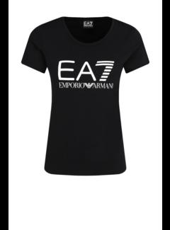 ARMANI EA7 Armani EA7 t-shirt met EA7 logo Zwart