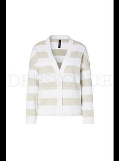 MARC CAIN Marccain oversized vest Wit