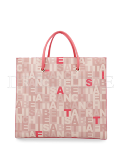 2. ELISABETTA FRANCHI Elisabetta Franchi shopper tas in print Roze