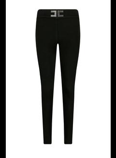 2. ELISABETTA FRANCHI Elisabetta Franchi skinny broek met EF logo