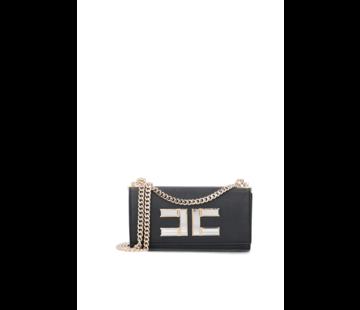 2. ELISABETTA FRANCHI Elisabetta Franchi crossbody tas met spiegel logo