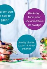 Workshop tools voor social media in de praktijk
