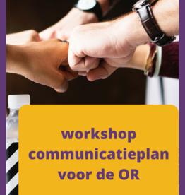 Workshop communicatieplan voor OR