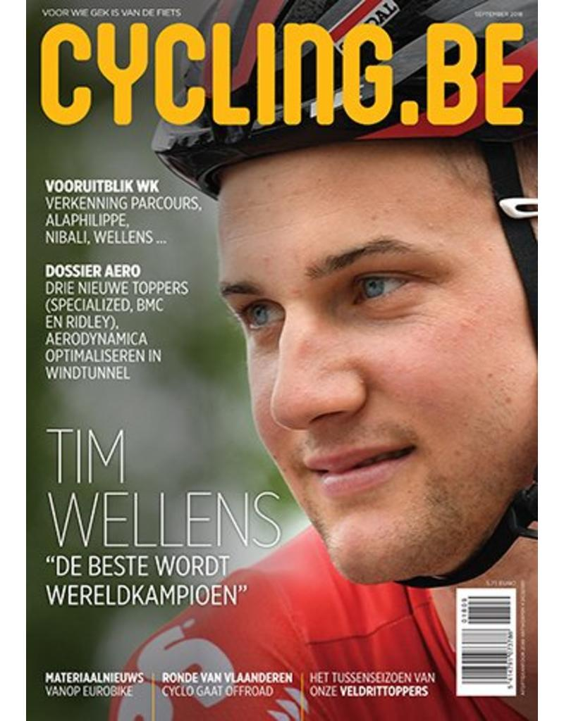 Cycling.be Cycling.be magazine september 2018