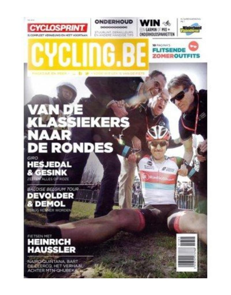 Cycling.be Cycling.be magazine mei 2013