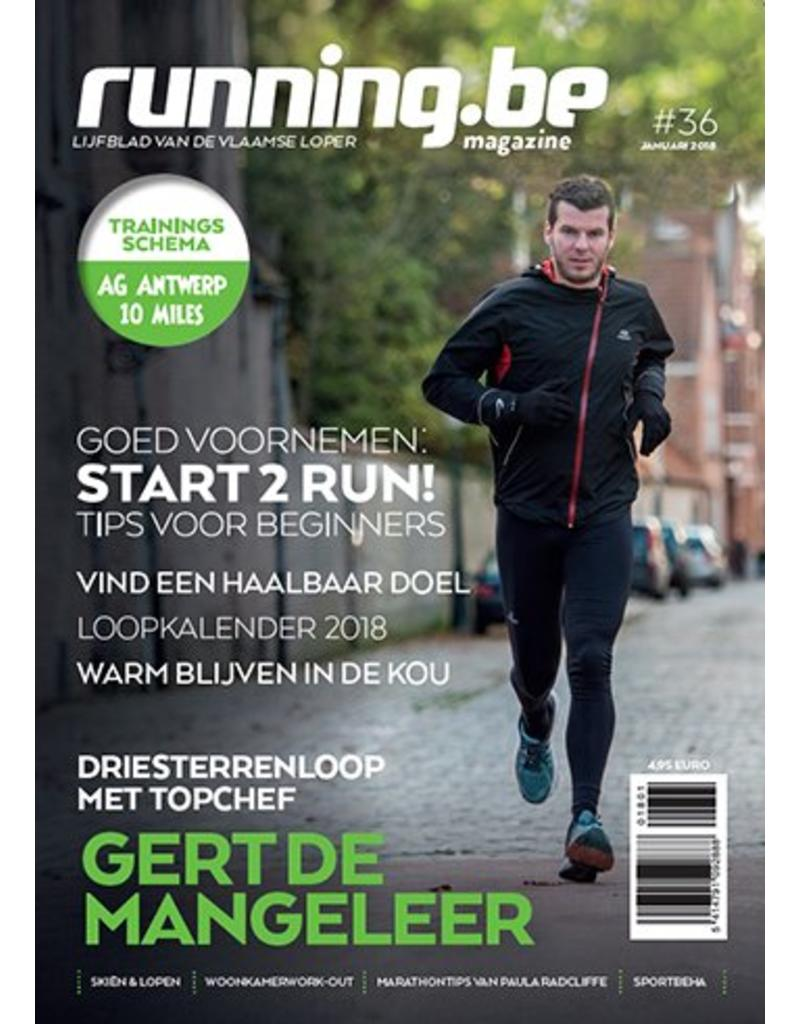 Running.be Running.be magazine januari 2018