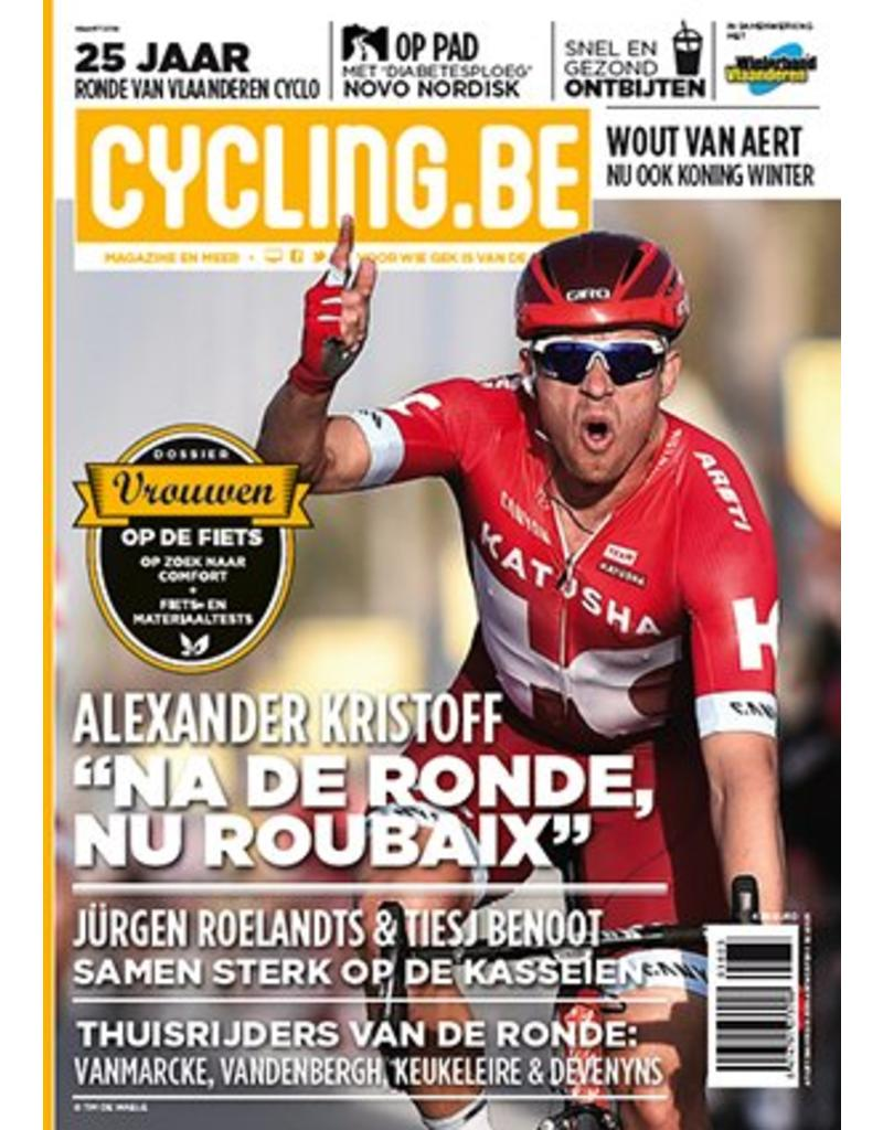 Cycling.be Cycling.be magazine maart 2016