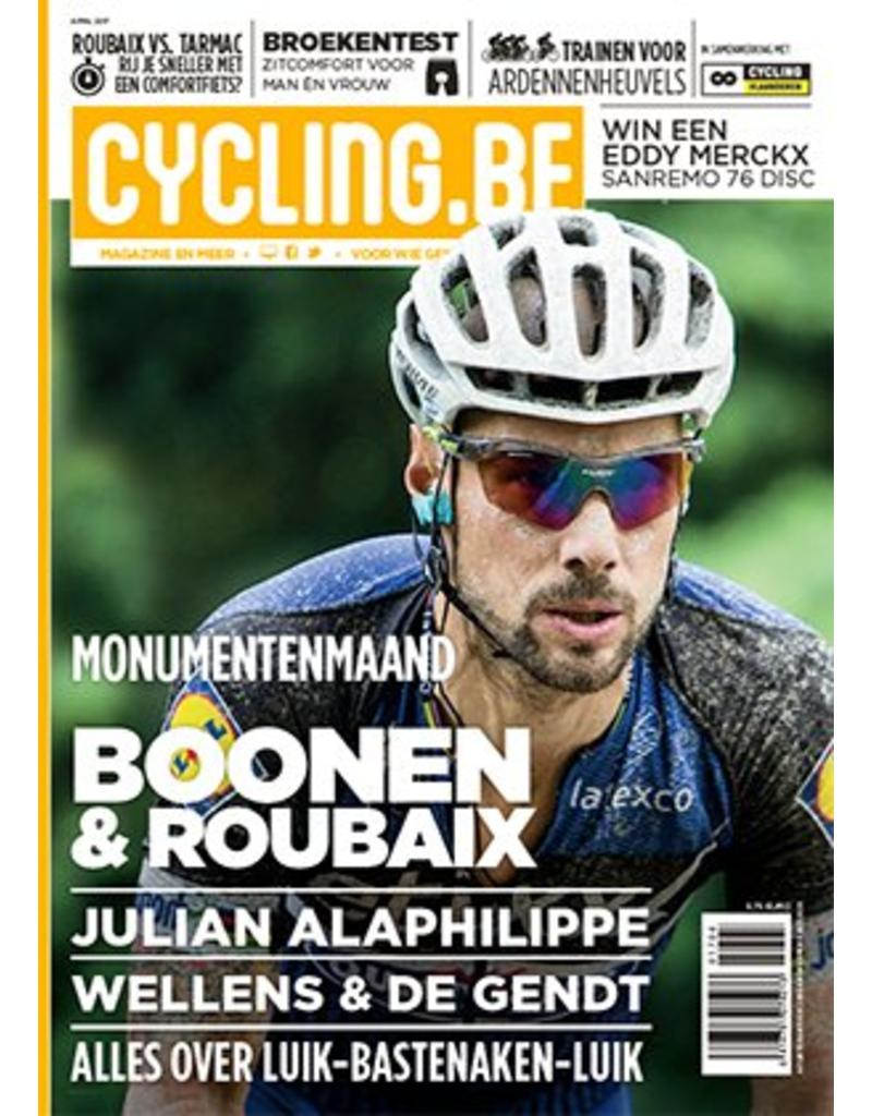 Cycling.be Cycling.be magazine april 2017