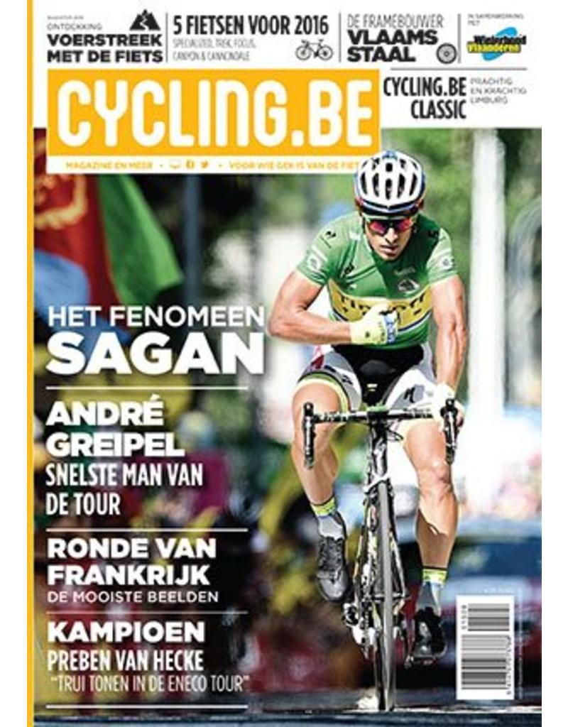 Cycling.be Cycling.be magazine augustus 2015