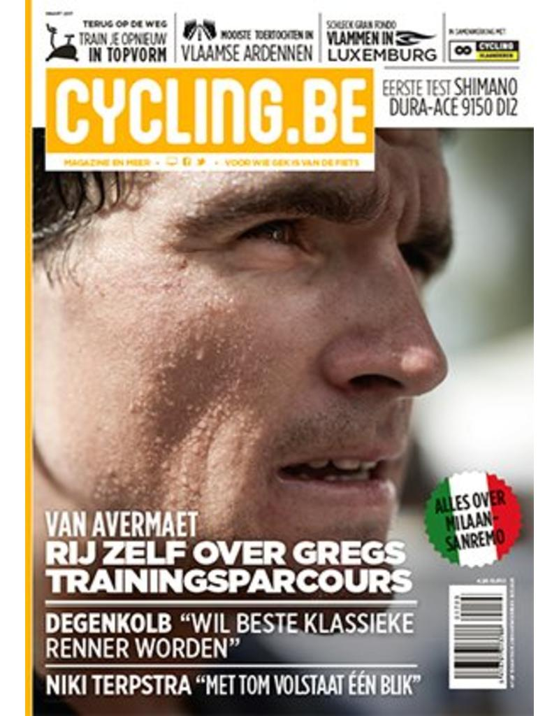 Cycling.be Cycling.be magazine maart 2017