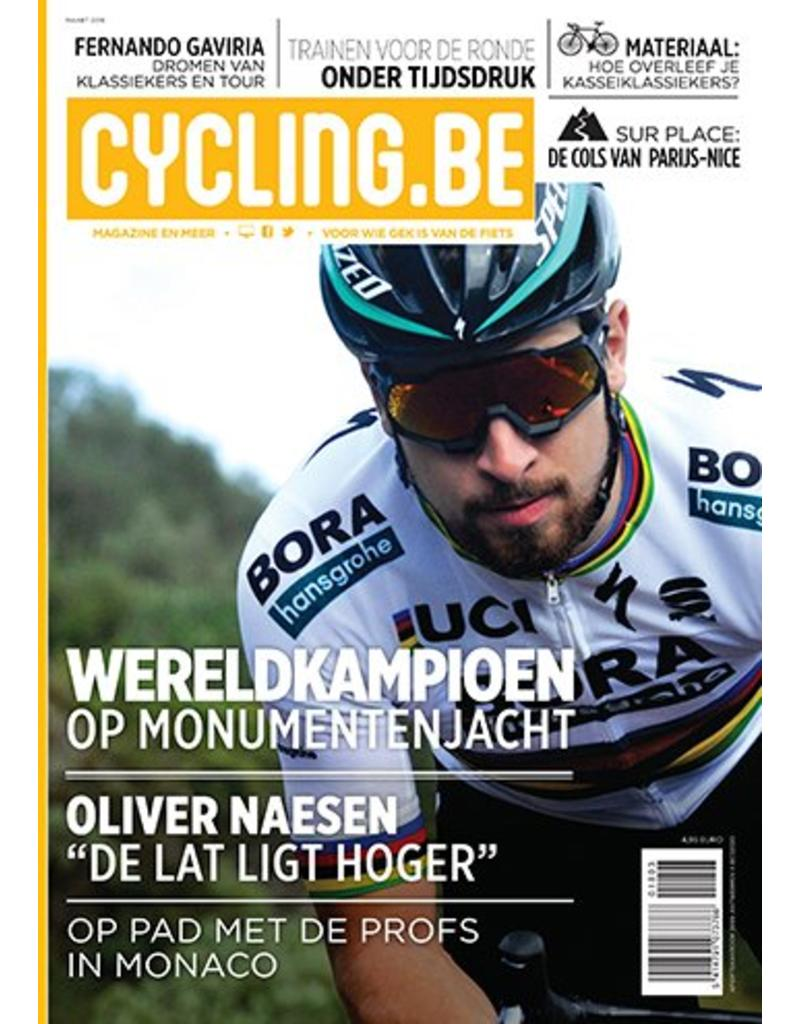 Cycling.be Cycling.be magazine maart 2018