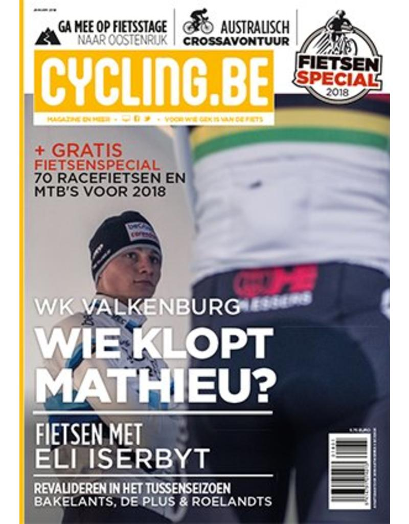 Cycling.be Cycling.be magazine januari 2018