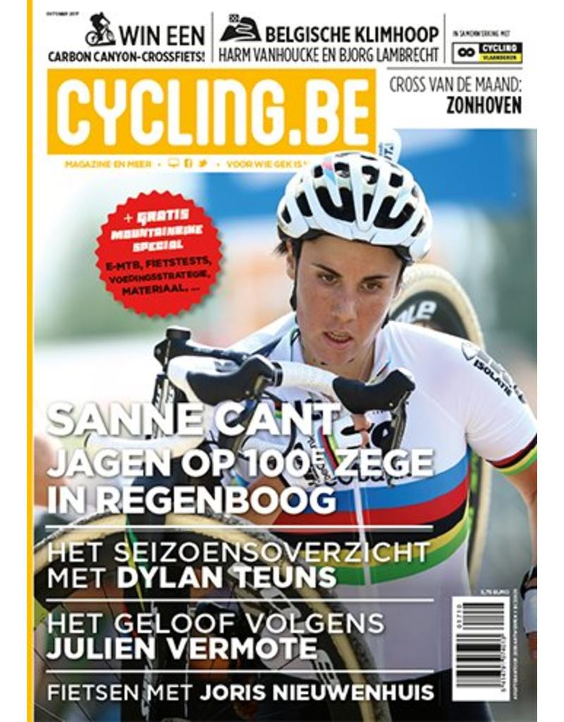 Cycling.be Cycling.be magazine oktober 2017