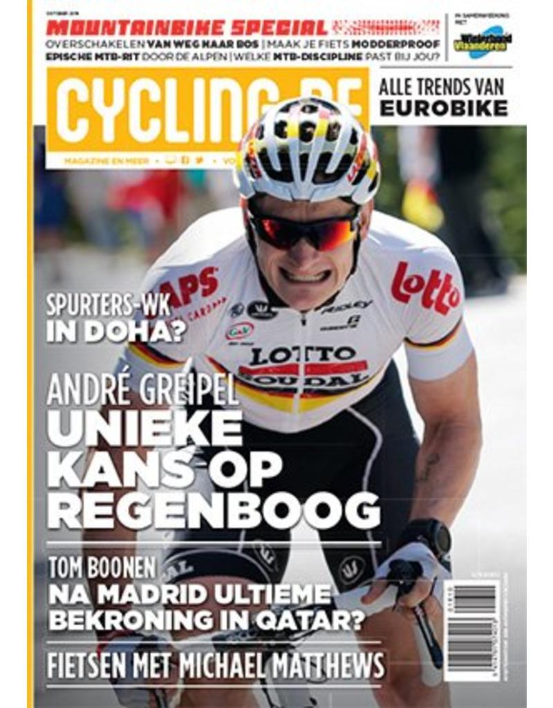 Cycling.be Cycling.be magazine oktober 2016