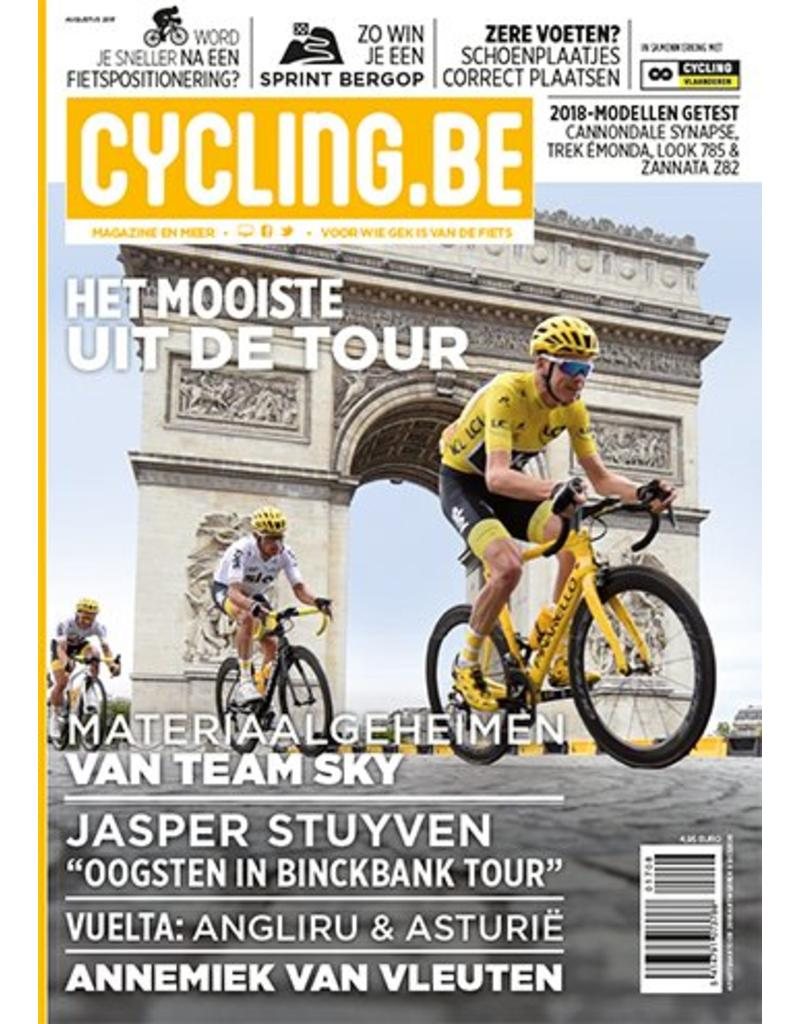 Cycling.be Cycling.be magazine augustus 2017