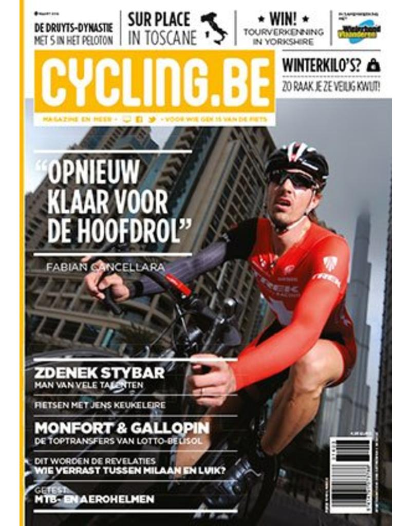 Cycling.be Cycling.be magazine maart 2014