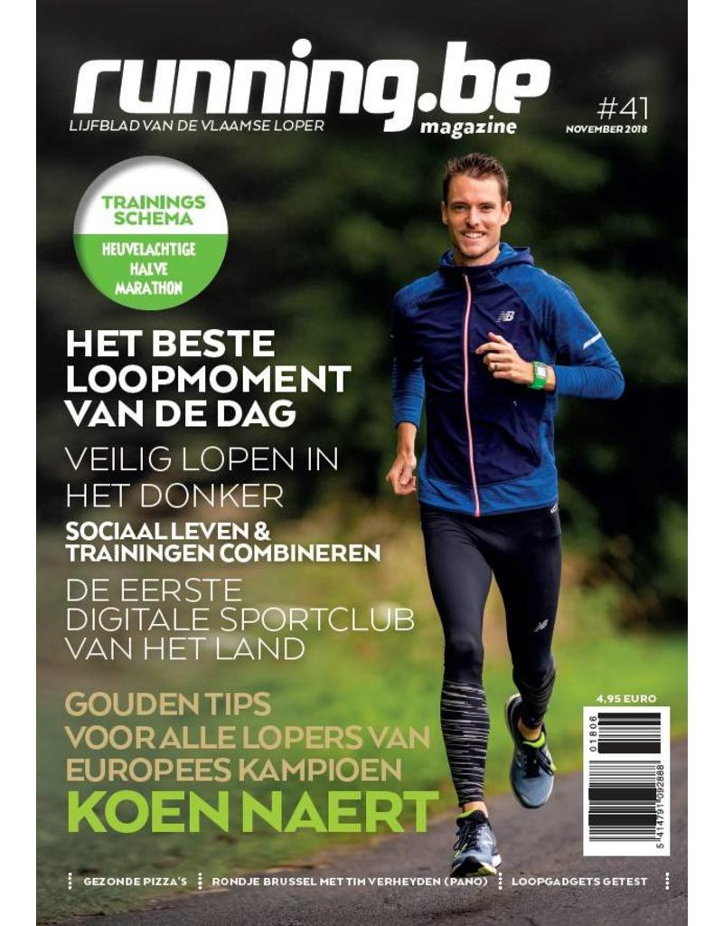 Running.be Running.be magazine november 2018