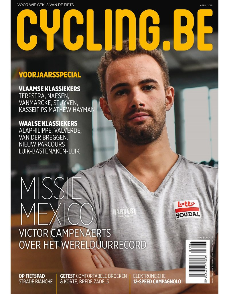 Cycling.be Cycling.be magazine april 2019