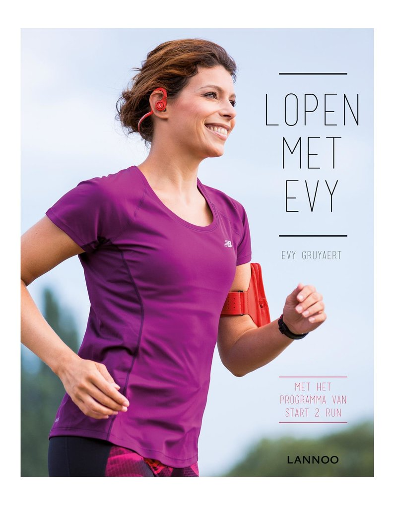 Energy Lab Lopen met Evy - boek