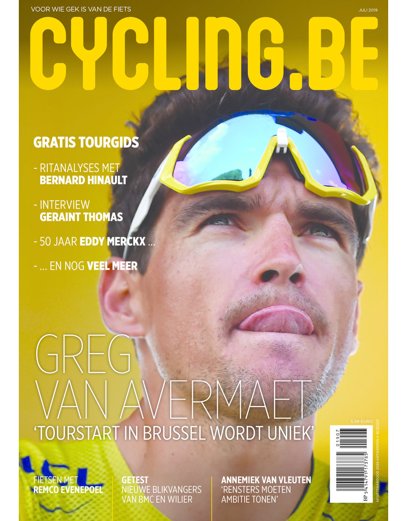 Cycling.be Cycling.be magazine juli 2019