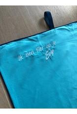 Energy Lab Sporthanddoek met opschrift 'ik ben fier op je'