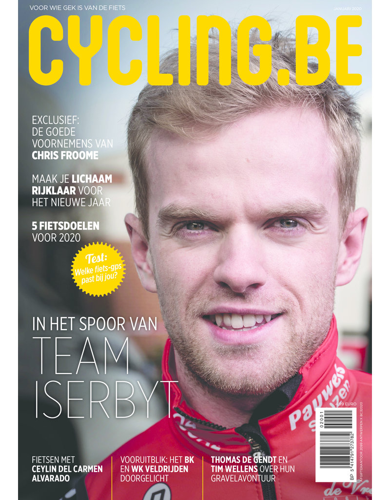 Cycling.be Cycling.be magazine januari 2020