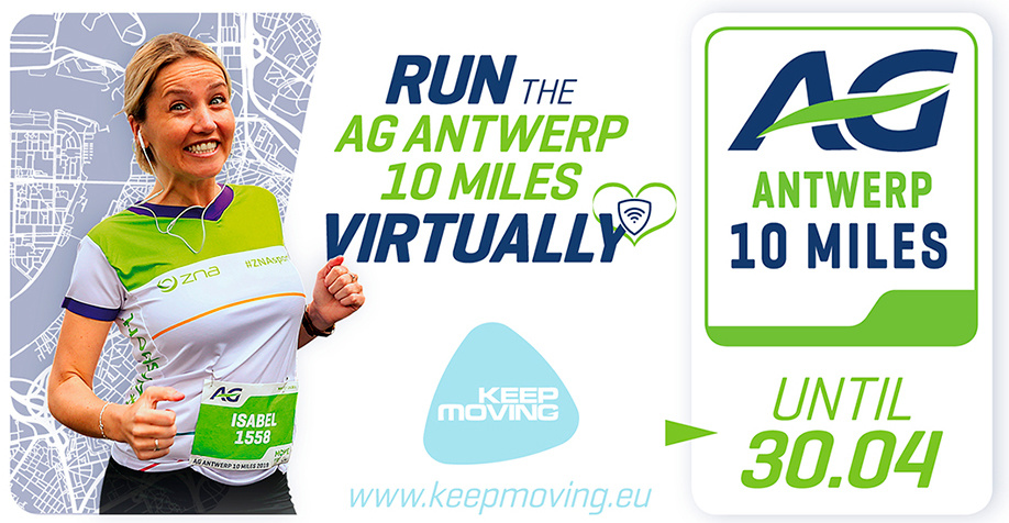 AG Antwerp 10 Miles Virtual Run