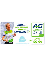 Golazo Sports AG Antwerp 10 Miles - Virtual Run Finisher T-shirt