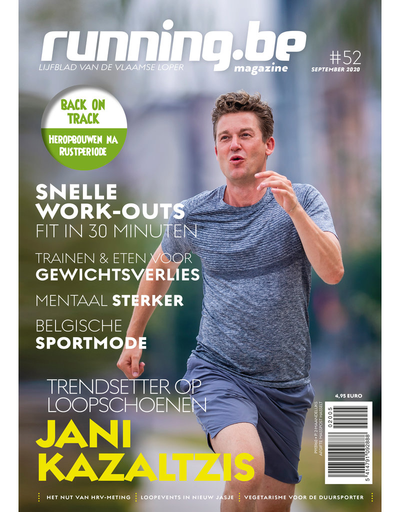 Running.be Running.be magazine september 2020
