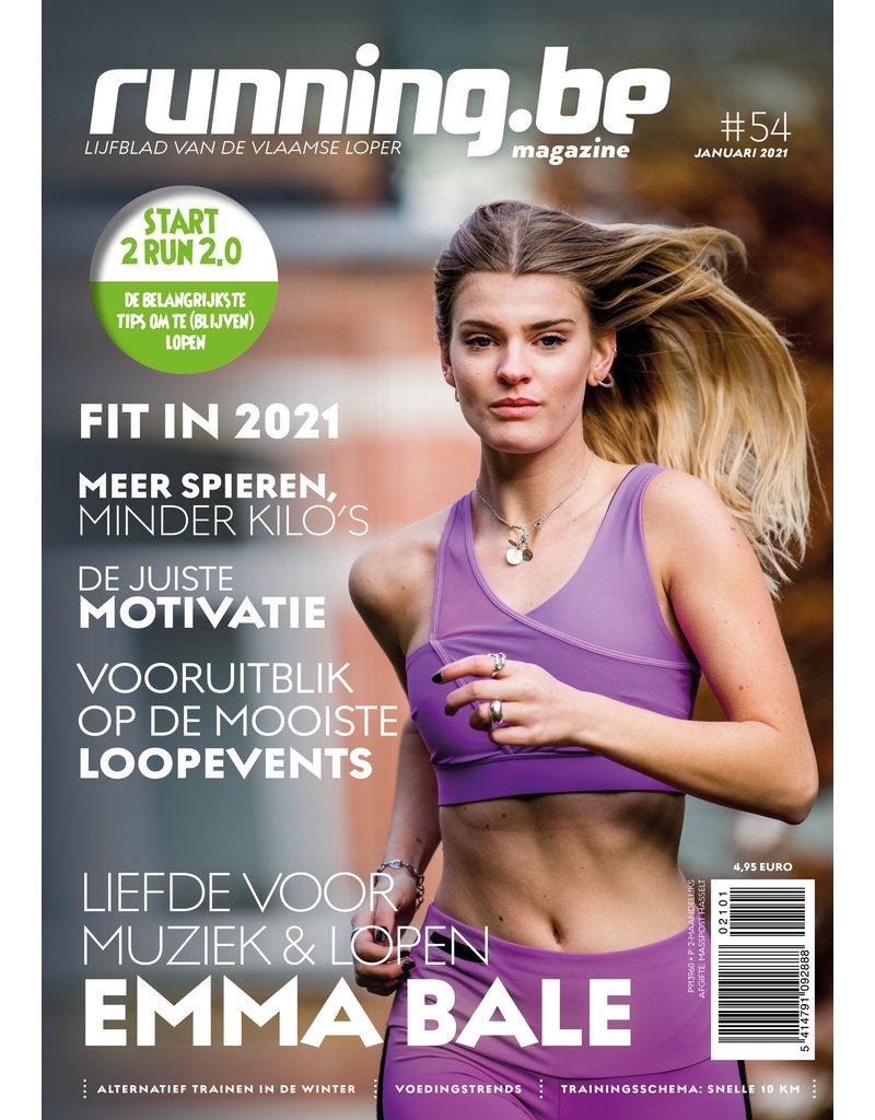 Running.be Running.be magazine januari 2021