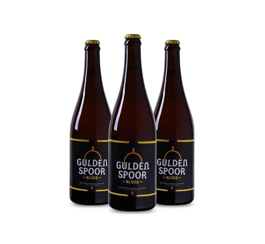 Gulden Spoor Blond (3 flessen 75 CL)