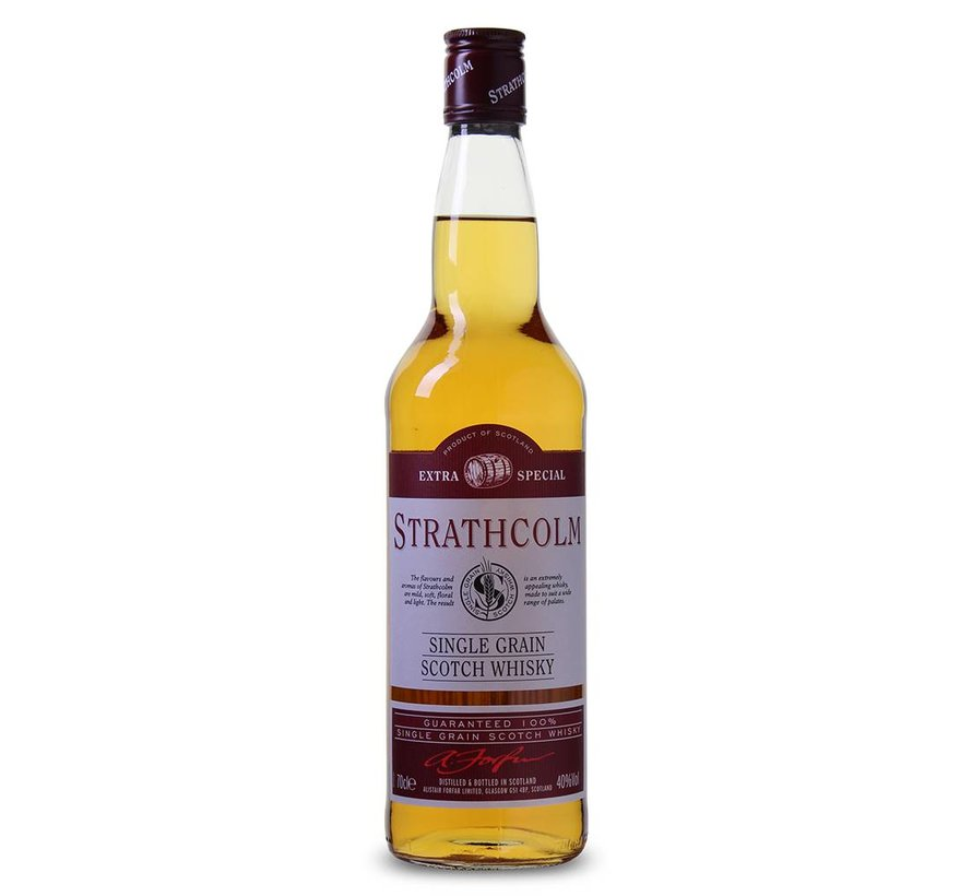 Strathcolm Extra Special - Single Grain Whisky 70 CL (1 Fles)