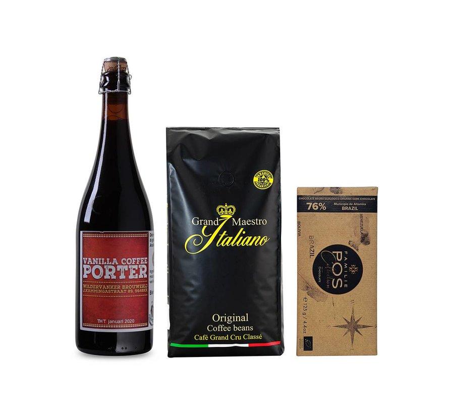 Bierpakket Coffee Vanilla Porter (1 fles 75 CL)