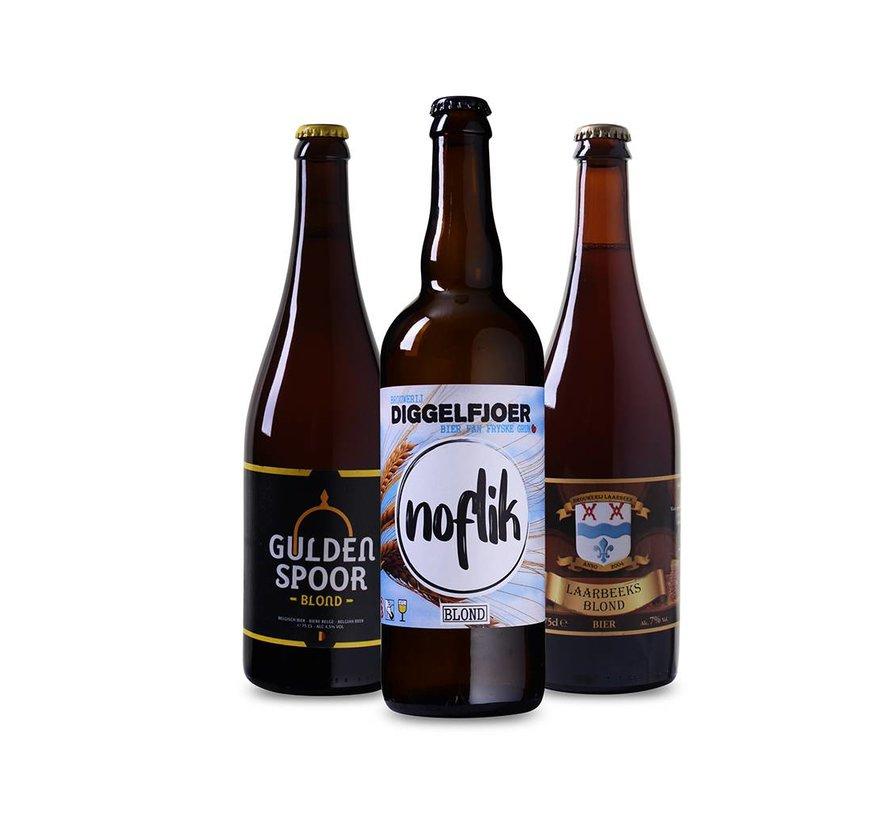 Bierpakket Blond (3 flessen 75 CL)