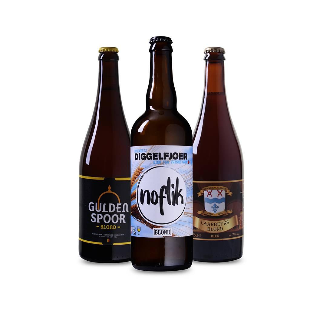Afbeelding van Bierpakket Blond (3 flessen)