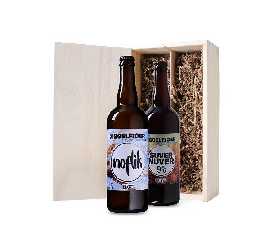 Bierkist Friese Speciaalbieren (2 flessen 75 CL)