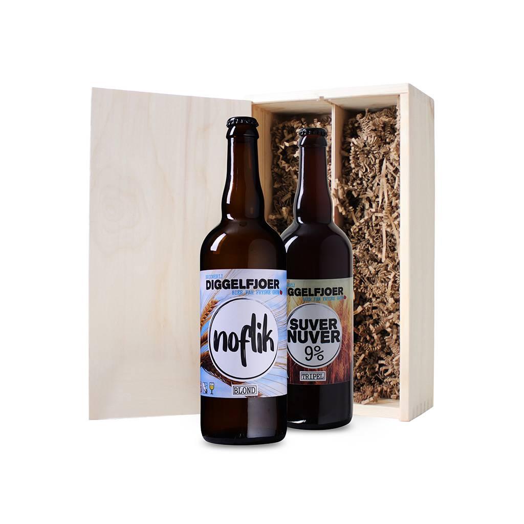 Afbeelding van Bierkist Friese Speciaalbieren (2 flessen)