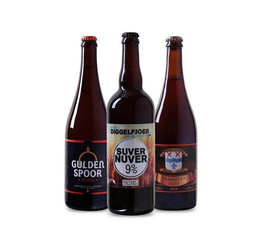 Bierpakket Tripel (3 flessen 75 CL)