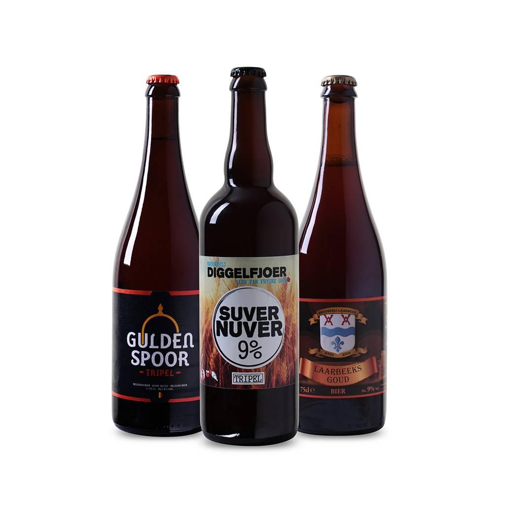 Afbeelding van Bierpakket Tripel (3 flessen)